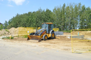 Superior Trenching Frontend Loader